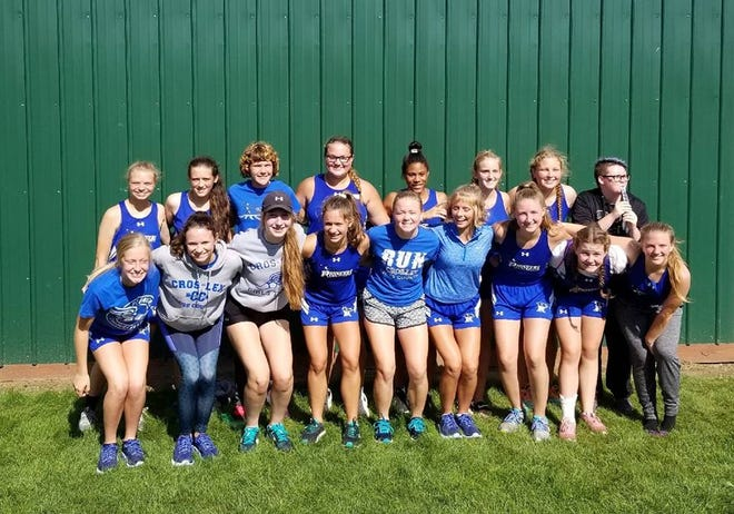 The Croswell-Lexington girls cross country team won the Brown City Invite Thursday.