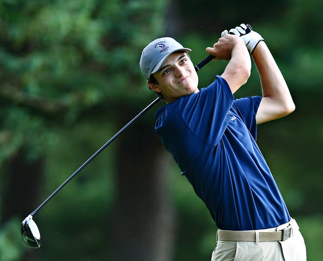 Littlestown's Devin Peart, seen here in a file photo, won the Boys' 15-18 Blue Division title on Monday in the York County Junior Golf Association event at Cool Creek Golf Club. Peart fired a 74.