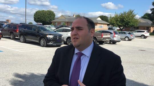 West York Area School District's board treasurer, George Margetas