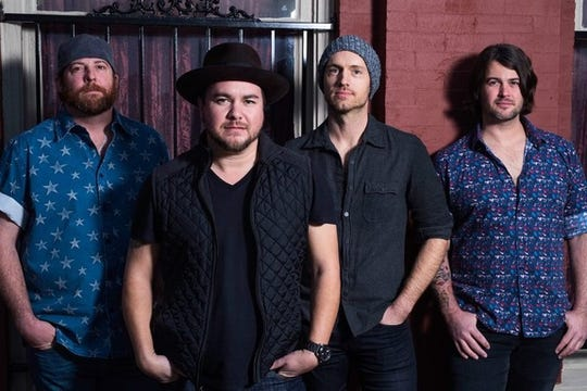 The Eli Young Band will perform Sept. 21 at the Eichelberger Performing Arts Center.