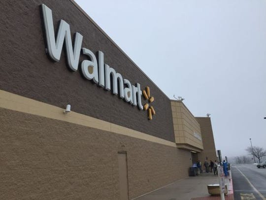 The Walmart store in Shrewsbury Township.