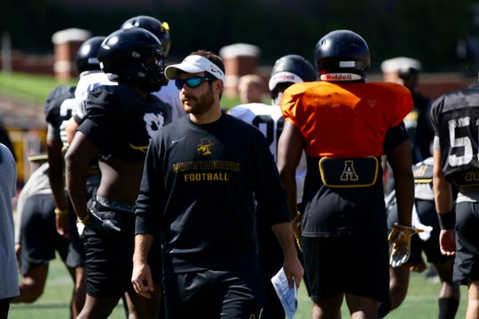 Greg Gasparato grew up watching his older brother play football in Beaver Stadium. On Saturday, he returns as the safeties' coach for Appalachian State.