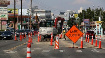 Here's a timeline of road closures and alternate routes during the Virginia Street Project construction.