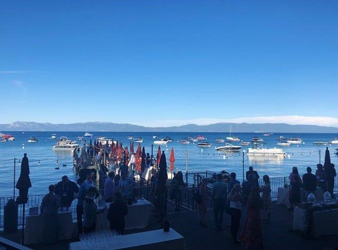 The setting was Lake Tahoe, but it felt like Australia.