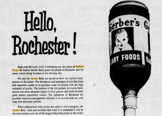 An advertisement from Gerber's Baby Foods on Nov. 16, 1951.