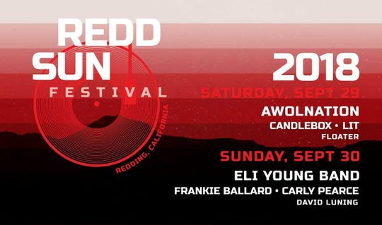 The Redd Sun Festival is slated to take place on Sept 29 and 30.