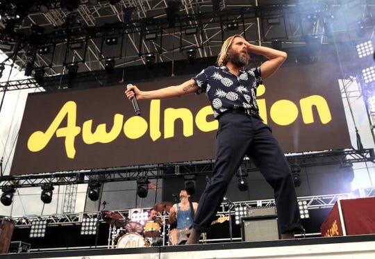 Awolnation is in the lineup for the Redd Sun Festival in September.