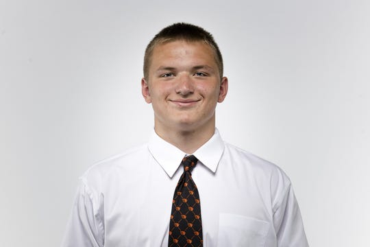 Oregon State freshman tight end Teagan Quitoriano, a Sprague High graduate, is No. 2 on the depth chart.