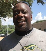 Captain Shreve assistant football coach Kendrick Law