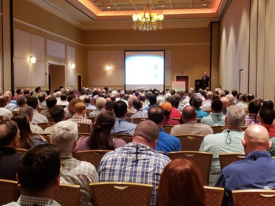 Members of the Louisiana Forestry Association at the organization's annual meeting the week of Aug. 27 in Shreveport.