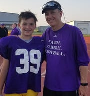 Benton's RJ and Reynolds Moore will be on the same sideline Friday night in Monroe for the first time in a regular season event.