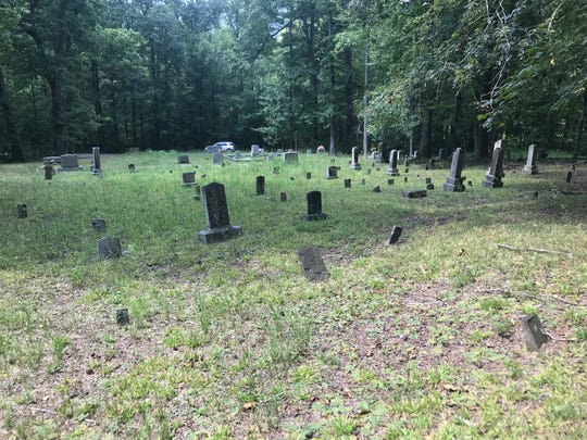 Reporter Joe Sneve happened upon an old cemetery near Johns Mountain in northwestern Georgia during his coverage of Harley-Davidson's 115 year anniversary, which had motorcycle riders making their way to Milwaukee from all across the world.