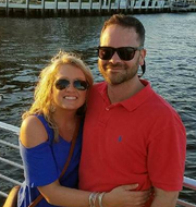 Staunton's Katie and Dustin Wright at the 2017 CIT International Conference in Fort Lauderdale, FL.