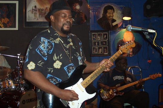 Johnnie Marshall returns to the Bradfordville Blues Club for New Year's Eve.
