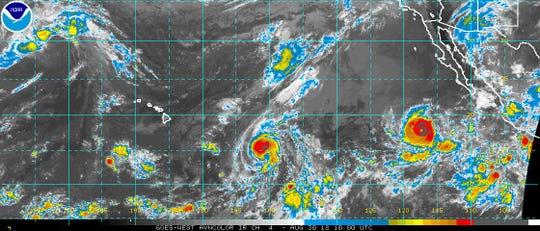 Tropics 6 a.m. Aug. 30, 2018