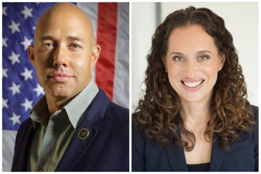 Brian Mast and Lauren Baer