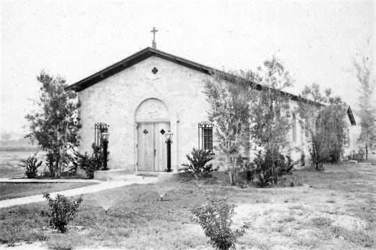 The new St. Mary's Episcopal Church in 1950.