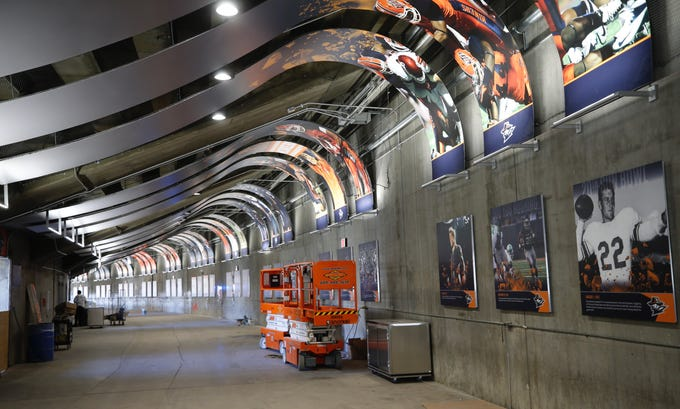 utep football fans will have a new view after sun bowl concourse