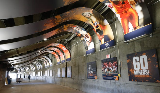 Saturday afternoon when the UTEP football team takes the field for the first time this year with a new coaching staff new players and new uniforms. Family, fans and visitors to the Sun Bowl will notice some changes to the concourse area.
