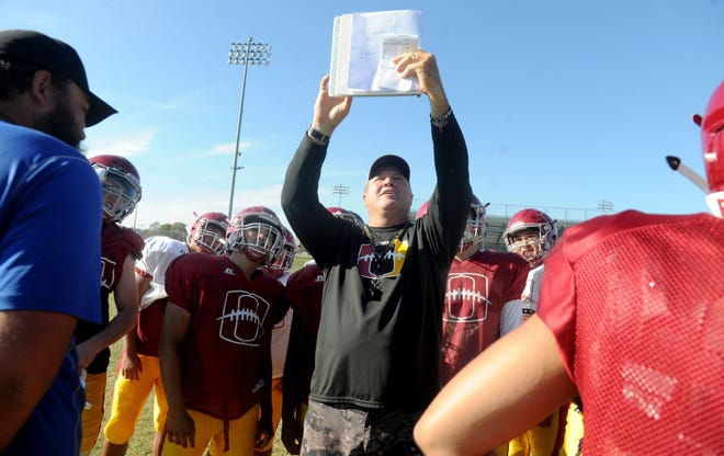 Jon Mack knows his first year at Hueneme High presents a new set of challenges because of the coronavirus epidemic.