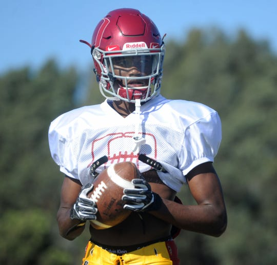 J.R. Waters has been a superstar receiver since transferring from St. Bonaventure to Oxnard.