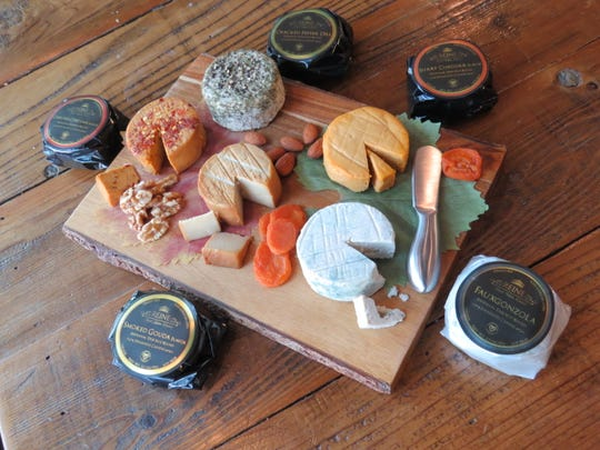 Reine Vegan Cuisine of Ventura ages its tree-nut rounds as though they were traditional dairy-milk cheeses, then packages them in custom-made cheese paper imported from France. The items are available online and at Harvest Cafe in Ventura and Farmer and the Cook in the Ojai Valley.