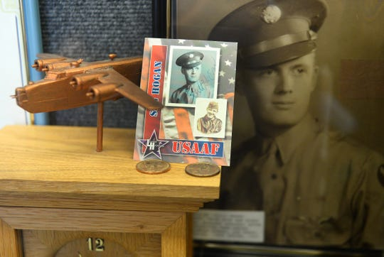 Items on display at the Millville Army Air Field Museum on Thursday, August 30.