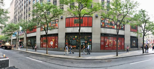 FAO Schwarz: Its new NYC store will open at 30 Rockefeller Plaza in November.
