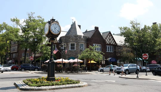 Downtown Scarsdale along Eastern Parkway Aug. 29, 2018.