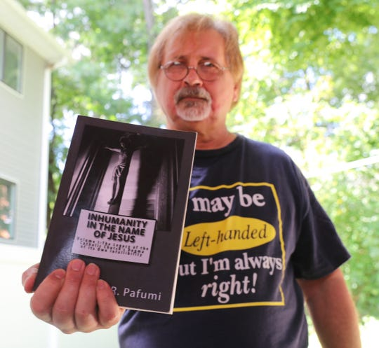 Author Glen R. Pafumi, who wrote three books on the Catholic clergy sex abuse scandals, photographed in his Spring Valley home on Thursday, August 30, 2018.