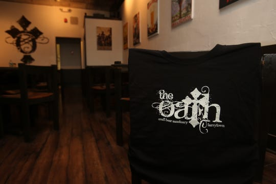 The interior of The Oath Bar in Tarrytown. Photographed April 14, 2015.