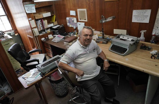Alexander Rybak is closing the doors to his typewriter and machine repair shop Eastern States Business Equipment Co. on Philadelphia Pike. Ryba is one of last typewriter repairman in Delaware spending decades fixing typewriters, adding machines, cash registers, and many other machines.