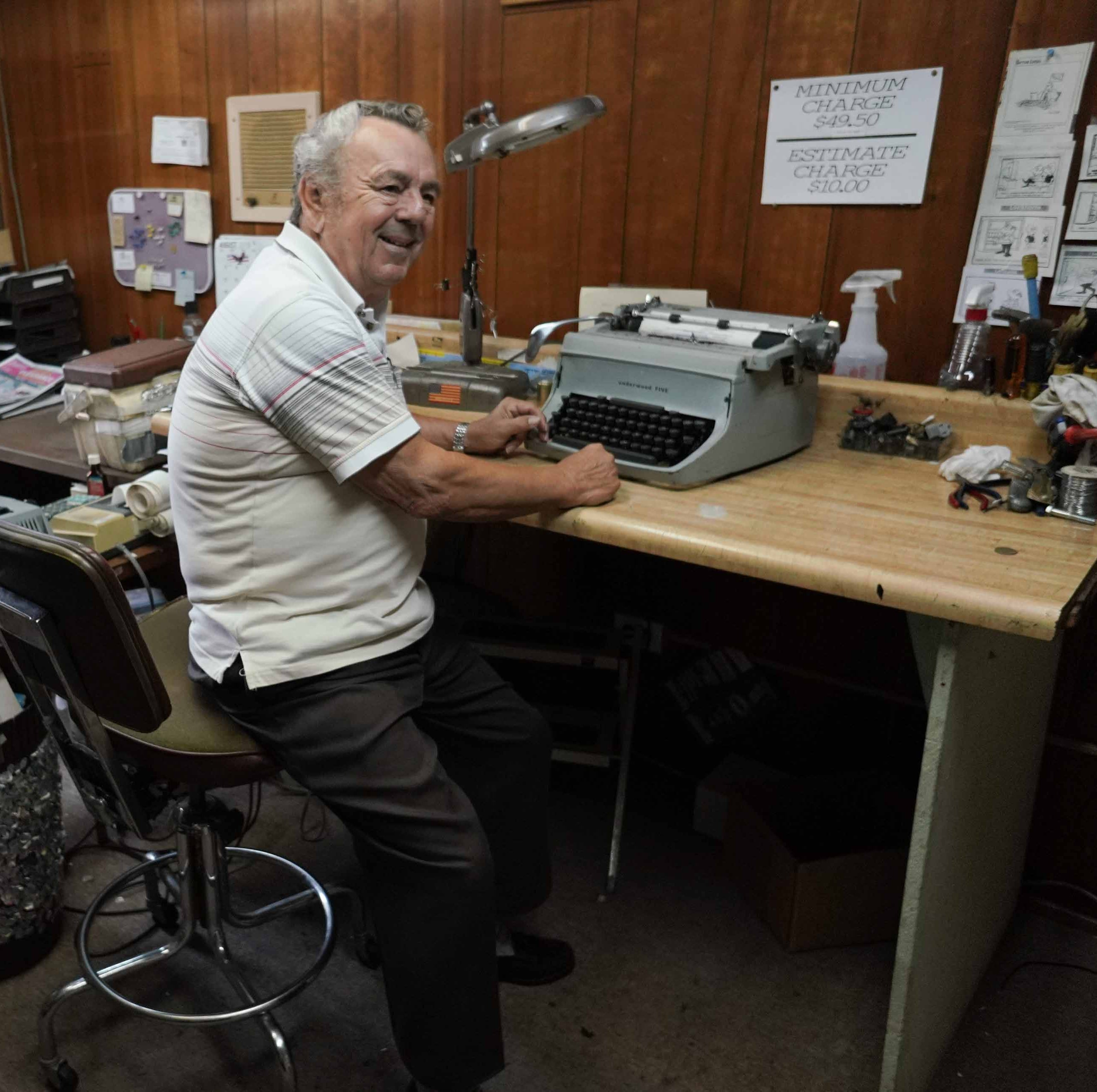 Wilmington's last typewriter repairman closes up shop