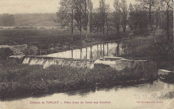 A postcard sent from the battlefields of Chateau-Thierry during World War I, sent to the Flack family of Wichita Falls and found while preparing for an estate sale.