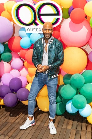 Karamo Brown attends Netflix's Queer Eye and GLSEN event at NeueHouse Hollywood on August 12, 2018.