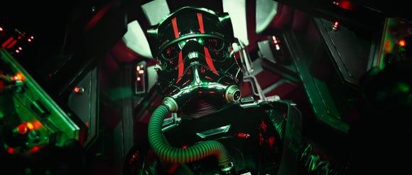 "Would ""Star Wars"" dare stick a TIE Fighter pilot helmet on the head of geek heartthrob Matt Smith?"