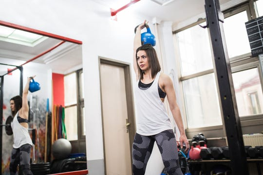 HIIT workouts involve exercise at high exertion levels, from 80 to 95 percent of maximal heart rate for short periods, followed by a recovery period that's usually 40 to 50 percent of maximal heart rate.