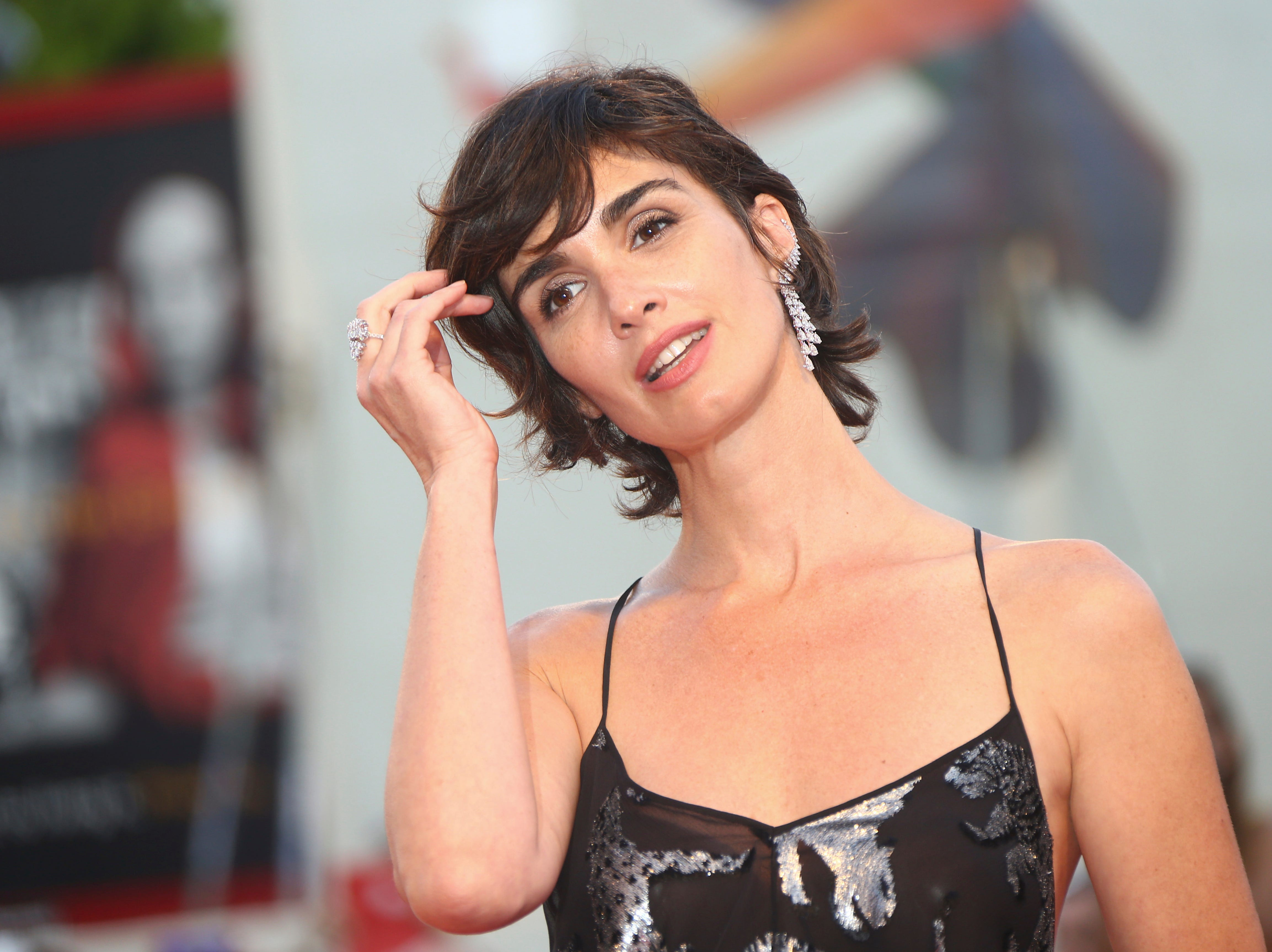 Actress Paz Vega poses for photographers at the premiere of the film 'Roma ' at the 75th edition of the Venice Film Festival in Venice, Italy, Thursday, Aug. 30, 2018. (Photo by Joel C Ryan/Invision/AP) ORG XMIT: LENT184