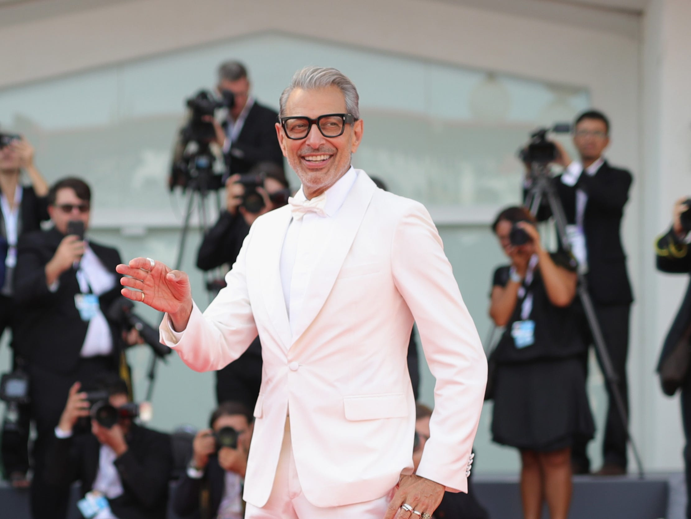 VENICE, ITALY - AUGUST 30:  walks the red carpet ahead of the 'The Mountain' screening during the 75th Venice Film Festival at Sala Grande on August 30, 2018 in Venice, Italy.  (Photo by Andreas Rentz/Getty Images) ORG XMIT: 775200672 ORIG FILE ID: 1025262058