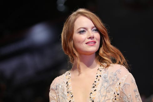 "Emma Stone may not be up for making a horror flick, but she has a terrific ""I'm scared face."""