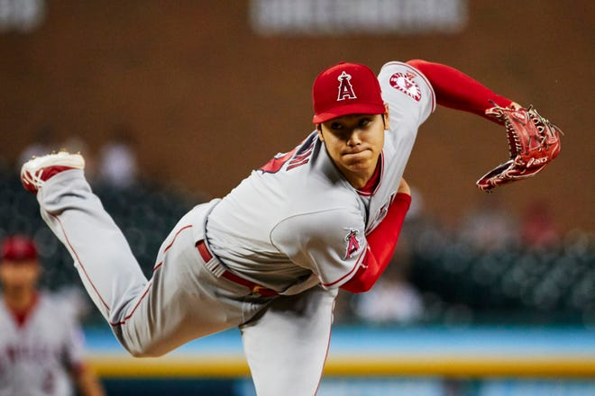 Shohei Ohtani compiled a 3.10 ERA in nine starts and for the Angels before injuring his elbow in early June.