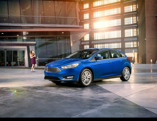 The 2018 Ford Focus.
