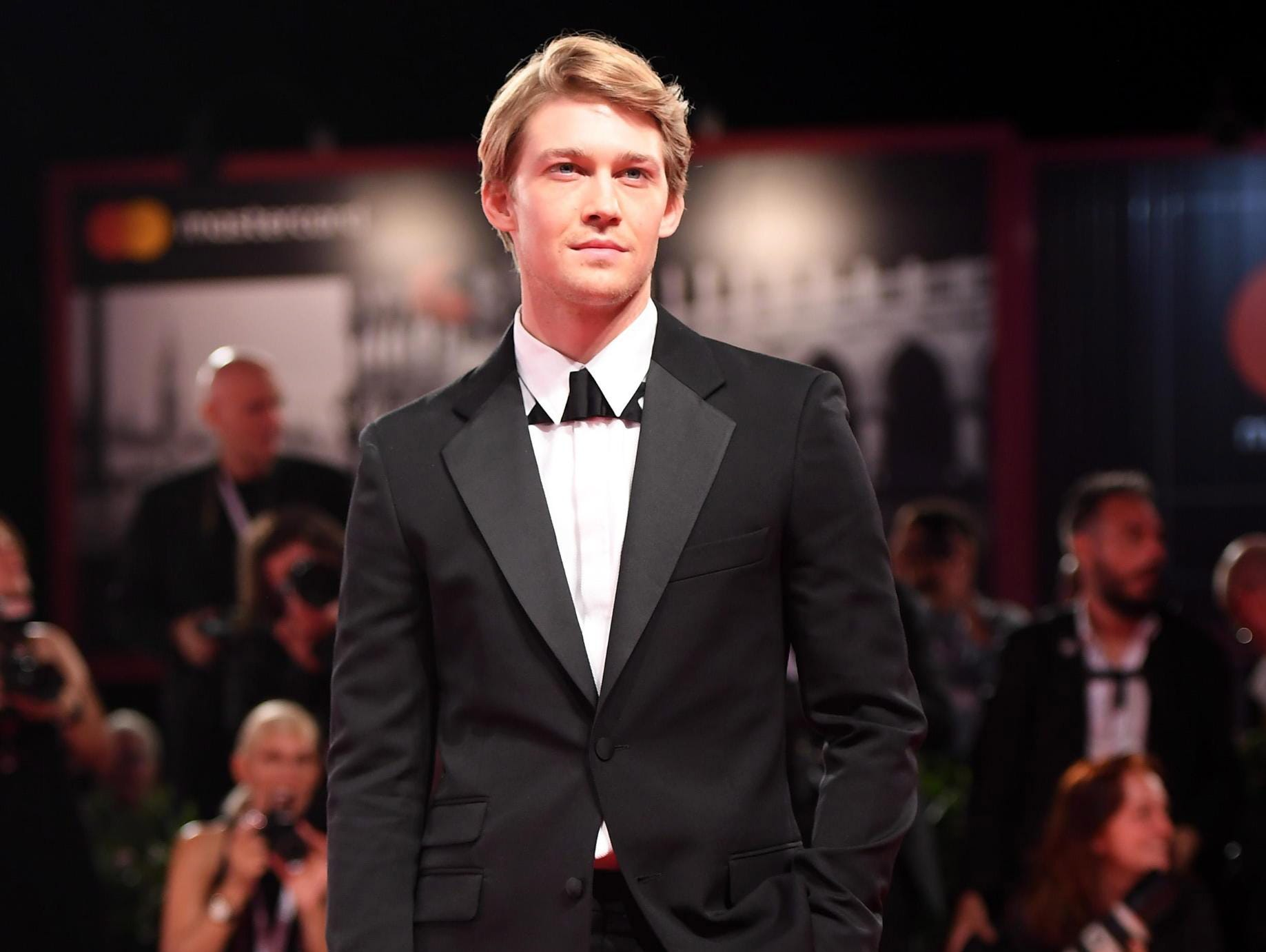 Joe Alwyn arrives for the premiere of 'The Favourite'  during the 75th annual Venice International Film Festival, in Venice, Italy, 30 August 2018.