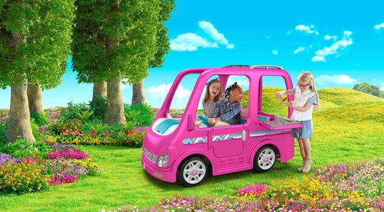 Power Wheels Barbie Dream Camper