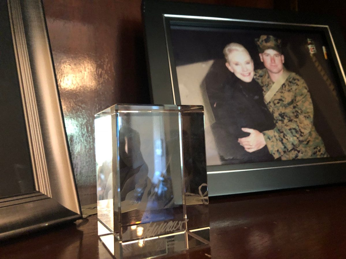 John McCain's D.C. office is filled with memories and mementos, including family photos.