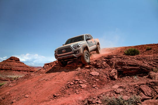 The 2018 Toyota Tacoma.