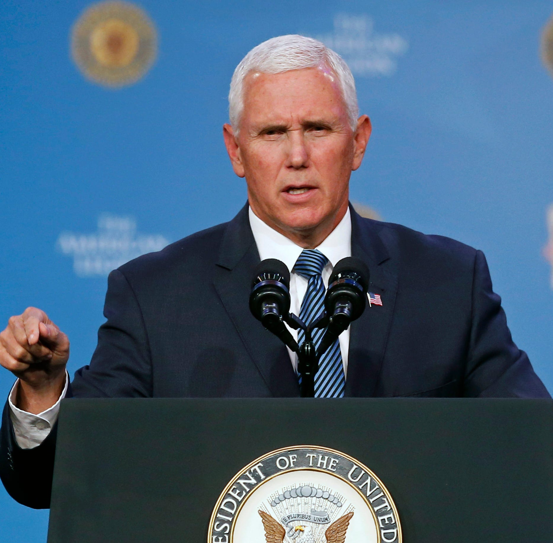 Pence-Blackburn visit to force road, garage closures downtown on Friday