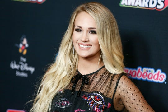 """Carrie Underwood's album """"Cry Pretty,"""" home to her No. 1 hit, is out Friday."""