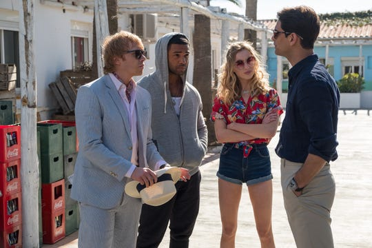 """Snatch"" stars Rupert Grint, Lucien Laviscount, Phoebe Dynevor, Luke Pasqualino find themselves dazed and confused in Spain."