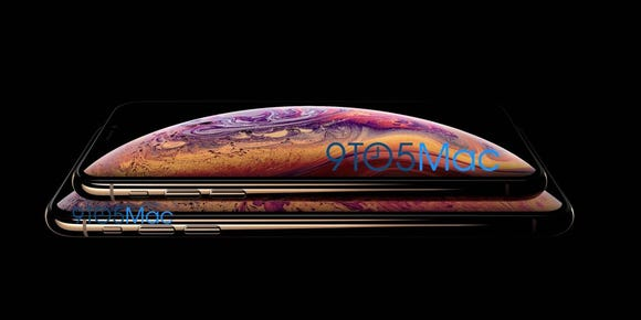 iPhone XS leak